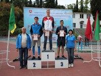 Кировчане приняли участие в республиканских соревнованиях по легкой атлетике